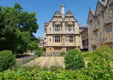 Architektur Oxfords, England lizenzfreies stockfoto