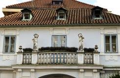 Architektur in Prag Stockbilder