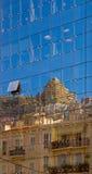 Architektur-Relections Stockfoto