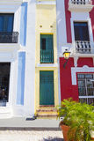 Architektur in San Juan stockfoto