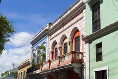 Architektur in San Juan Stockbild