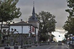 Architektur in San Rafael von Spanien Lizenzfreie Stockfotos