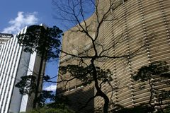 Architektur in Sao-Paulo Lizenzfreies Stockfoto