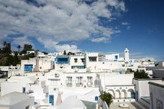 Architektur Sidi Bou Said lizenzfreies stockfoto