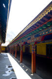 Architektur in Tibet Lizenzfreies Stockbild