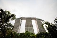Architektur um Marina Bay Singapore lizenzfreie stockfotos