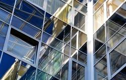 Architektur und Gebäudebeschaffenheit in den warmen Farben Lizenzfreie Stockbilder