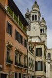 Architektur und Markstein von Venedig stockbild