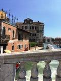 Architektur in Venedig stockbild