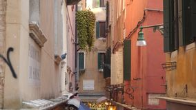 Architektur in Venedig stock video