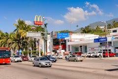 Architektur von Acapulco, Mexiko Stockfoto