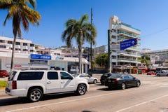 Architektur von Acapulco, Mexiko Lizenzfreie Stockbilder