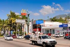 Architektur von Acapulco, Mexiko Lizenzfreies Stockfoto