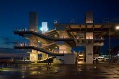 Architektur von Adler-Bahnstation Stockfotos