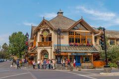 Architektur von Banff Stockfotografie