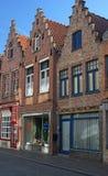 Architektur von Brügge Lizenzfreies Stockfoto
