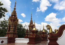 Architektur von Buddha-Tempel in Chiangmai Stockfotos