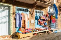 Architektur von Chefchaouen, Marokko lizenzfreies stockfoto