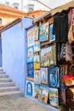 Architektur von Chefchaouen, Marokko lizenzfreie stockfotografie