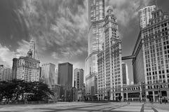 Architektur von Chicago. Stockbild