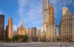 Architektur von Chicago. Lizenzfreies Stockbild