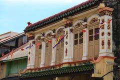 Architektur von Chinatown stockfotografie