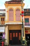 Architektur von Chinatown lizenzfreie stockbilder