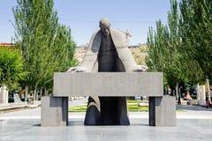 Architektur von Eriwan, Armenien Stockfotos