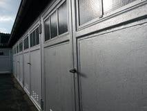 Architektur von generischen Garagen Lizenzfreies Stockbild