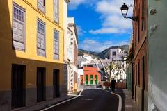 Architektur von Guia de Isora Lizenzfreies Stockbild