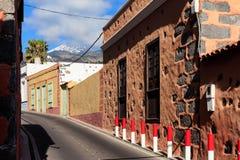 Architektur von Guia de Isora Lizenzfreies Stockfoto