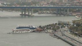 Architektur von Istanbul stock video footage