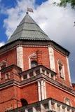 Architektur von Izmailovo-Landsitz in Moskau Brücken-Turm Lizenzfreie Stockfotografie