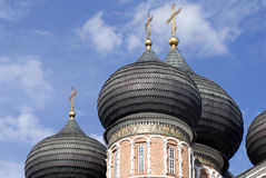 Architektur von Izmailovo-Landsitz in Moskau Moskau, Russland, rotes Quadrat Lizenzfreies Stockfoto