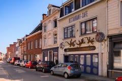 Architektur von Löwen, Belgien Stockbilder