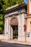 Architektur von Löwen, Belgien Lizenzfreies Stockbild