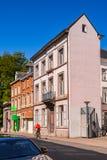 Architektur von Löwen, Belgien Stockfotos