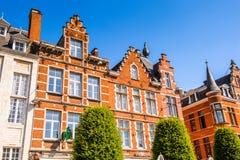 Architektur von Löwen, Belgien Lizenzfreies Stockfoto