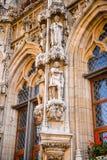 Architektur von Löwen, Belgien Lizenzfreie Stockbilder