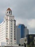 Architektur von Long Beach Stockbild