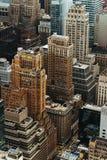 Architektur von Manhattan Lizenzfreies Stockfoto