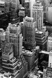 Architektur von Manhattan Lizenzfreie Stockfotos