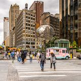 Architektur von New York, USA Lizenzfreies Stockfoto