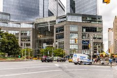 Architektur von New York, USA Lizenzfreie Stockfotos