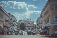 Architektur von Odessa Stockfotos