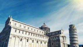 Architektur von Pisa, Italien stockfotografie