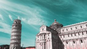 Architektur von Pisa, Italien stockbild