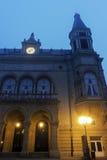 Architektur von Platz d'Armes lizenzfreies stockbild