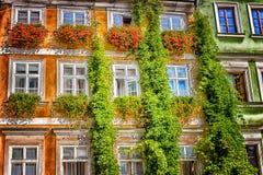 Architektur von Prag Stockbild