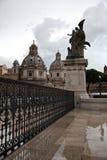 Architektur von Rom. Lizenzfreies Stockbild